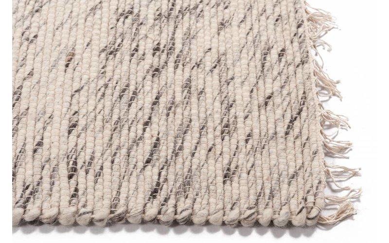 Laine 13 - Wollen vloerkleed in Beige kleurstelling