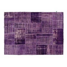 Origineel Patchwork 49 - Handgeknoopt patchwork vloerkleed
