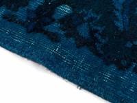 Authentiek Vintage 36 - Vintage vloerkleed in verschillende Blauw tinten