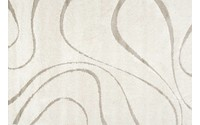 Hoogpolig vloerkleed in het beige