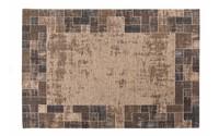 Gaia 17 - Vintage vloerkleed in Bruine kleurstelling