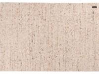 Frans Molenaar vloerkleed van 100% wollen garen in een beige kleursamenstelling.