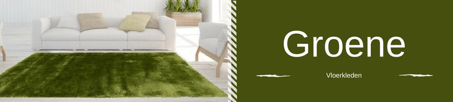 Groene vloerkleden