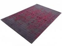 Prachtig vintage vloerkleed in violet kleurstelling