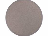 Sisal Outdoor 21 - Rond sisal vloerkleed voor buiten in lichtgrijs met lichtgrijze band