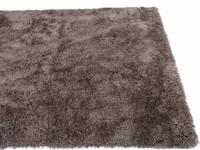 Cellia 23 - Hoogpolig vloerkleed in het grijs