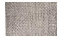 Noma 22 - Uniek geometrisch vloerkleed in steengrijs met zachtgrijze lijnen