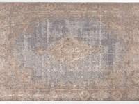 Elba 31 - Vintage vloerkleed in een mix van Blauwkleurige garen
