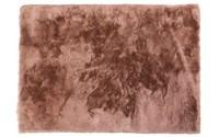 Noëlle Riche 42 - Hoogpolig vloerkleed in Oudroze