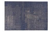 Mace 37 - Vintage vloerkleed in Donkerblauwe kleurstelling