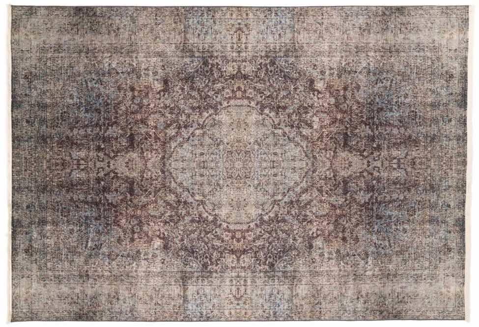 16da79cb727636 Reem 24 - Vintage vloerkleed met oosters dessin - Floorpassion