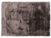 Noëlle Riche 22 - Hoogpolig vloerkleed in Wolfgrijs