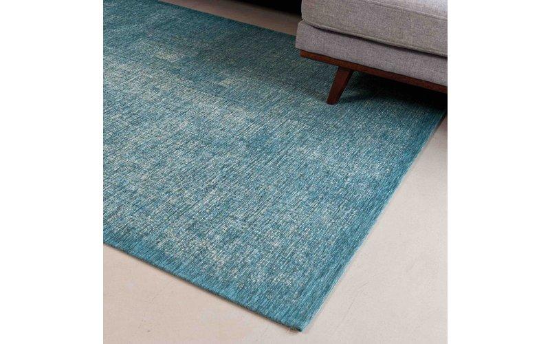 Mace 30 - Vintage vloerkleed in Turquoise kleurstelling