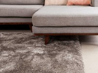 Ross 22 - Prachtig hoogpolig vloerkleed in grijze kleursamenstelling