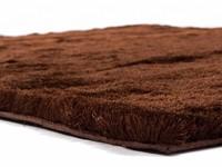 Reef 18 - Hoogpolig vloerkleed in Donkerbruine kleurstelling