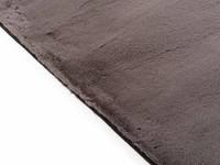 Fay Dark Grey - zacht hoogpolig vloerkleed in donkergrijs
