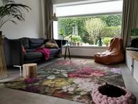 Amelie- Bloemen vloerkleed