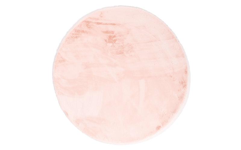 Fay Soft Pink - Rond vloerkleed roze