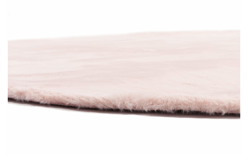 Fay Soft Pink - Rond vloerkleed roze