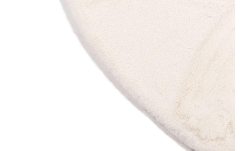 Fay Soft White - Rond vloerkleed zacht