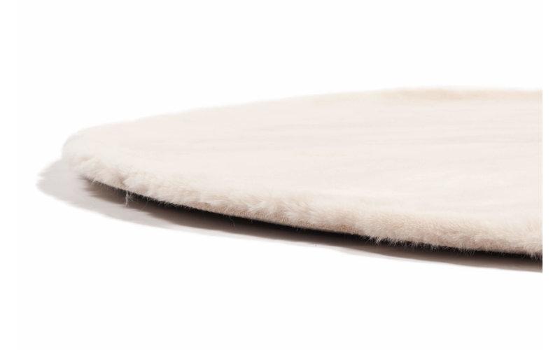 Fay Cream - Rond vloerkleed zacht créme/beige