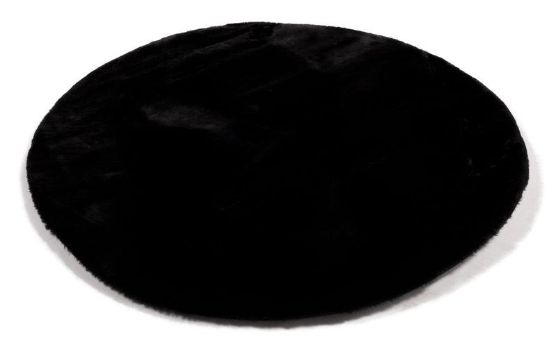 Fay Black - Rond vloerkleed