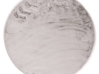 Fay Soft Grey - Rond vloerkleed zacht -