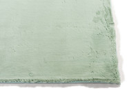 Fay - zacht hoogpolig vloerkleed in mintgroen
