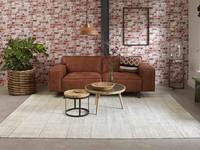 Pognum 11 - Uniek vintage vloerkleed in beige kleurstelling