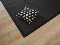 Premium 25 - Sisal vloerkleed in zwarte kleurstelling