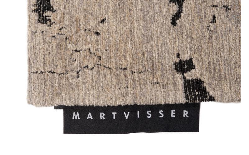 Mart Visser Vloerkleed Berger 23 Black Lilly