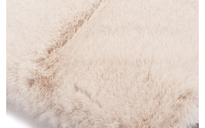 Hampton Ecru - Premium zacht hoogpolig vloerkleed