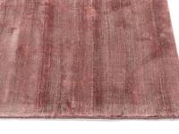 Velours Vloerkleed Ryker - Burgundy Roze