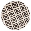 Fred van Leer Touch of Maroc  -Rond Vloerkleed in tijdloos design by Fred van Leer -