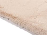 Hampton Soft Cream - Rond hoogpolig vloerkleed