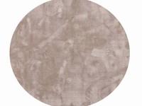 Sandro 21- Rond hoogpolig vloerkleed in  Grijs