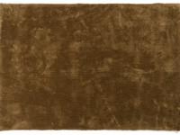 Sandro 54 - Velours vloerkleed in Olive Green