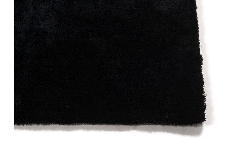 Sandro 25 Carbon Black - Velours vloerkleed