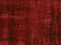 Réal 44 - Rond Vintage Vloerkleed Karmijn Rood
