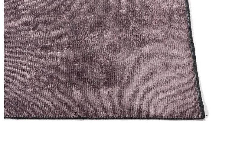 Velours vintage vloerkleed - Royce 43 - Dark Pink