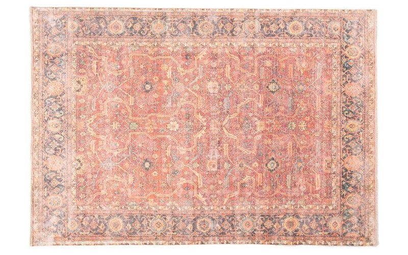 Laylah 45 - Uniek vintage vloerkleed in Multi kleurstelling