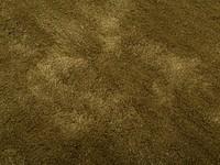 Sandro 54 - Rond velours vloerkleed Olive Green
