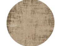 Réal 15 - Vintage vloerkleed rond Beige