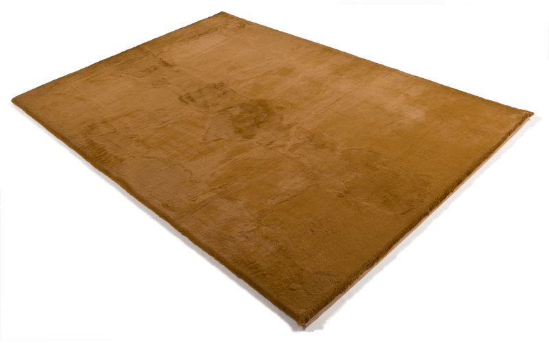 Fay 69 - Zacht hoogpolig vloerkleed in Copper Gold