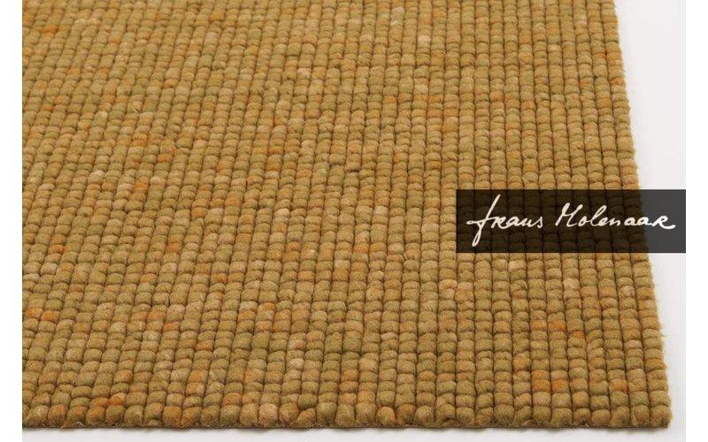 Beach Life 69 - Frans Molenaar vloerkleed van 100% wollen garen in oker
