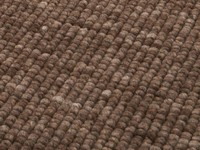 Beach Life 17 - Frans Molenaar vloerkleed van 100% wollen garen in Bruine kleurensamenstelling