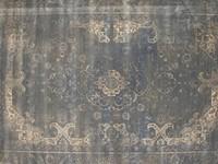 Angkor 21 - Vintage vloerkleed in prachtige Grijs tinten