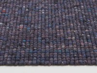 Beach Life 49 - Frans Molenaar vloerkleed van 100% wollen garen in Paarse kleurensamenstelling