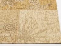 Chatel 13 - Prachtig patchwork vloerkleed in beige kleuren