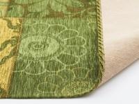 Chatel 54 - Patchwork vloerkleed met prachtig bloemendessin in het groen